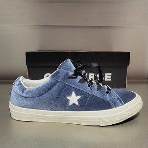 Converse CTAS Suede Blue Low Sneaker 660354C NWT